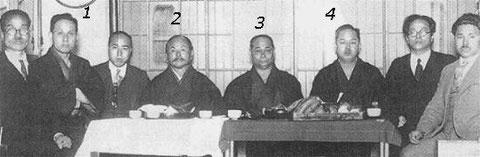 Grands Maîtres fondateurs du Karate