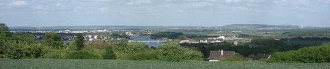 Vue de la vallée de la Seine depuis l'Hautil