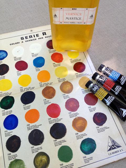 Maimeri restauro colours