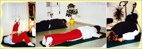 Rückenschule in unserer Physiotherapie