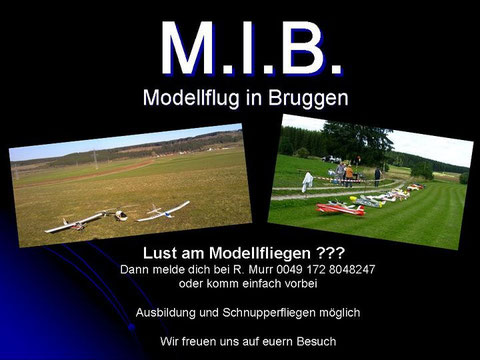 Modellflug in Brugen