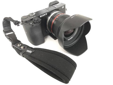 Grundausrüstung: Sony Alpha 6000 mit 12mm Weitwinkelobjektiv