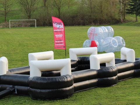 Fußball Billard für deine Veranstaltung! - Eventmodule von Dein Freizeitprofi in Hessen.