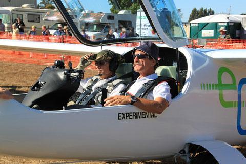 Unsere Wettbewerbspiloten Eric Raymond und Klaus Ohlmann