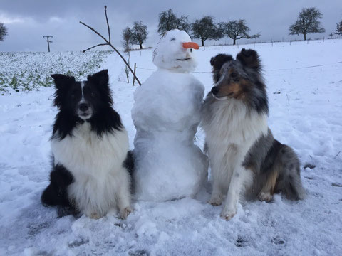 Januar 2016: Meine Mädels haben einen neuen Freund gefunden;-)