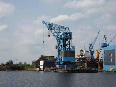 """""""Blauer Klaus"""" im Fischerreihafen Bremerhaven 2014"""