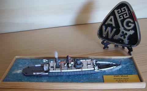 SMS Mosel,  Kaiserliche Marine