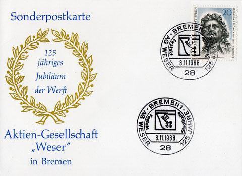 Ausgegeben von der Deutsche-Post