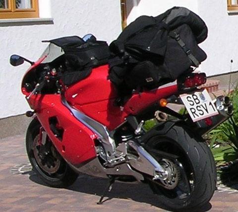 RSV1000, reisefertig
