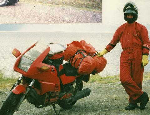 Am Nordkap, Juli 1990