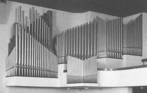 alte Pfäffiker Orgel