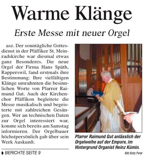 Höfner Volksblatt, 25.8.03