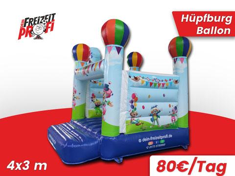 Hüpfburg Ballon mieten - Eventmodule & Hüpfburgen von Dein Freizeitprofi in Thüringen.