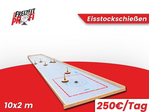Eisstockschießen für deine Veranstaltung! - Eventmodule von Dein Freizeitprofi in Duderstadt.