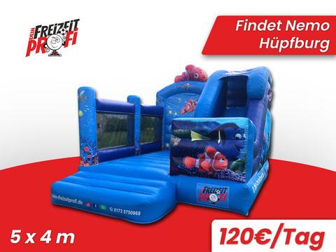 Hüpfburg Delfin mieten - Eventmodule & Hüpfburgen von Dein Freizeitprofi in Göttingen.