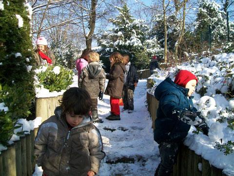 boules de neige en janvier