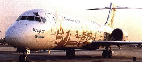 Siem Reap Air Boeing 717/Courtesy: Bangkok Air