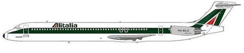 Einst größter europäischer Nutzer der MD-82/Courtesy: MD-80.net