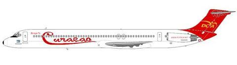 DCA übernahm alle drei MD-82 der Air ALM/Courtesy and Copyright: md80design