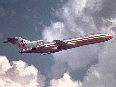 Erheblich lauter als eine MD-80 - die Boeing 727/Courtesy: American Airlines