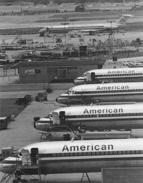 American Airlines als größter Abnehmer der MD-80/Courtesy: McDonnell Douglas