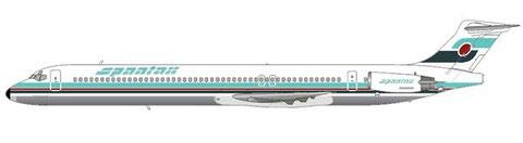Die MD-83 sollte erheblich durstigere und lautere Flugzeuge ersetzen/Courtesy: md80design