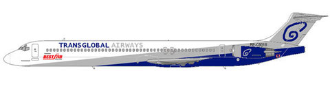 Angemietete MD-83/md80design