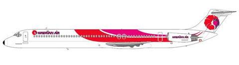 Die Form der MD-80 und das Farbschema ergaben eine einzigartige Kombiantion/Courtesy and Copyright: md80design