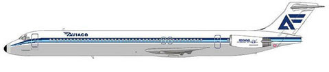 Die MD-88 ersetzte die MD-83 bei Aviaco/Courtesy: MD-80.com