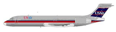 USAir bekundeten Interesse an 100 MD-95!/Courtesy and Copyright: md80design