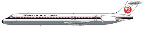 Japan Air Lines MD-80 in klassischem Farbkleid, natürlich fiktiv/Copyright: MD-80.net