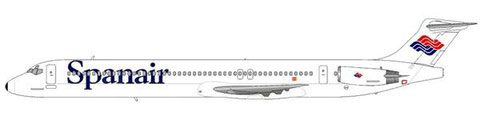 MD-83 in der Original-Bemalung und mit neuem Heckkonus/Courtesy and Copyright: md80design