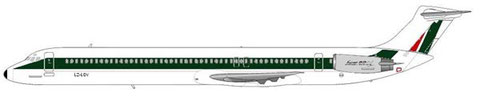 MD-82 (geleast von Bulgarian Air Charter und in der Grundbemalung von Alitalia/Courtesy and Copyright: md80design