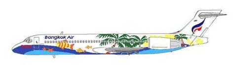 Die erste Boeing 717/Courtesy: MD-80.net