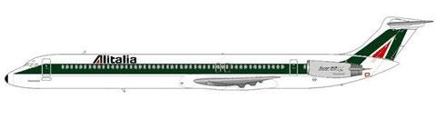 Super 80 der Alitalia/Courtesy and Copyright: md80design