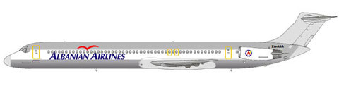 Albanian Airlines MD-82/Courtesy: md80design
