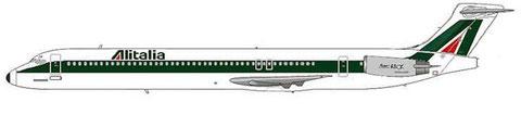 Alitalia MD-82/Courtesy: MD-80.com