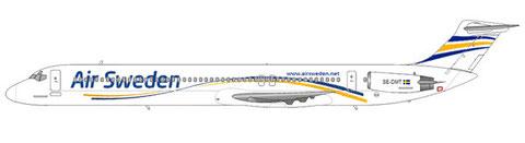 Die derzeit älteste aktive MD-80 weltweit - die MD-81 SE-DMT/Courtesy: md80design