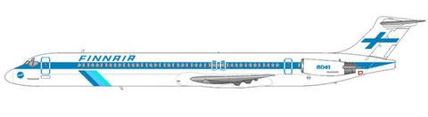 MD-83 im klassischen Farbschema/Courtesy and Copyright: md80design