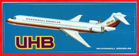 Aufkleber/Courtesy: McDonnell Douglas