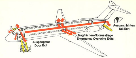 """""""Für Ihre Sicherheit""""/Courtesy: Aero Lloyd"""