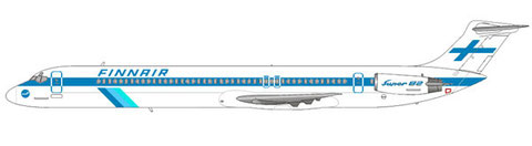 DC-9 Super 82 im klassischen Farbkleid der Finnair/Courtesy and Copyright: md80design