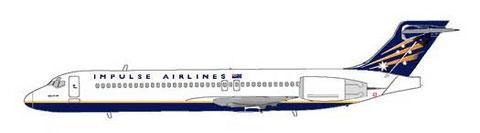 Erster australischer Nutzer der Boeing 717/Courtesy: MD-80.net