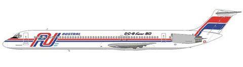 DC-9 Super 80 (MD-81) der Austral/Courtesy and Copyright: md80design