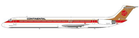 Continental Airlines MD-82/Farbschema bis 1988/89?/Courtesy and Copyright: md80design