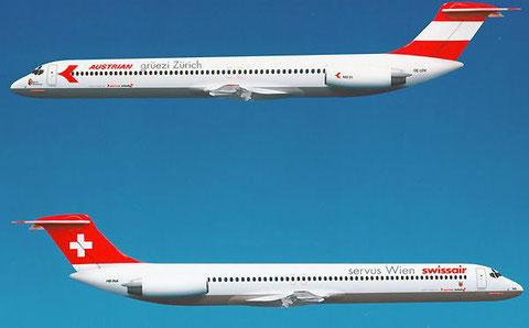 Modellzeichnung/Courtesy: Swissair