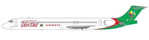 United Airways MD-83/Courtesy and Copyright: md80design
