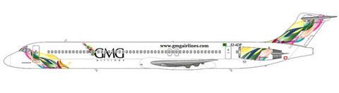 MD-83 im neuen Farbkleid/Courtesy: md80design