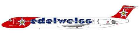 Edelweiss Air MD-83/Courtesy and Copyright: md80design