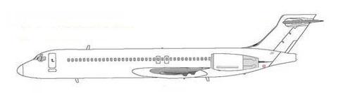 Boeing 717-200/Courtesy: MD-80.net